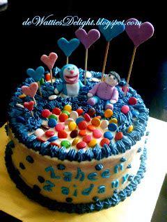 Terbaik Stkddr43 Setelan Anak Doraemon Tie wattie s selamat hari lahir anakku sayang