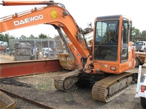mini excavator daewoo solar 55 s55v steel tracks