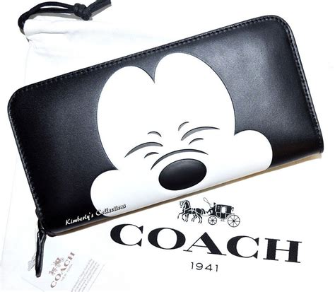 Coach Embossed Wallet Limited coach x disney mickey mouse limited edition collectors
