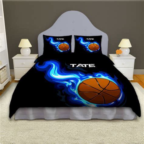 girls basketball bedding boys basketball personalized comforter set sports bedding