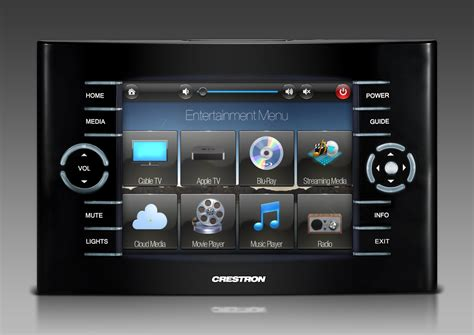 Home Automation Design Guide by Home Theater Remote Touchscreen Graphics By