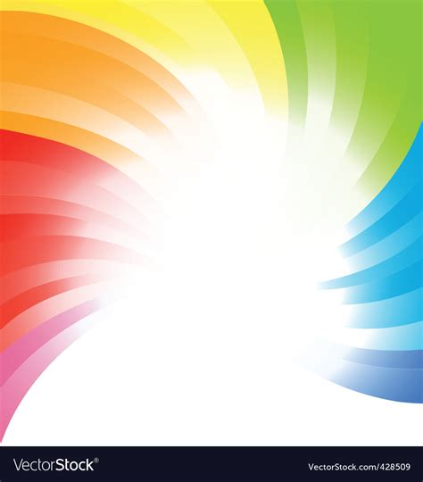 vector image vector rainbow background royalty free vector image