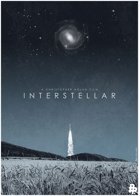 film up interstellar interstellar movie poster ben mcleod alternative