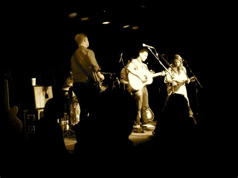 the lone bellow on stage at the ark