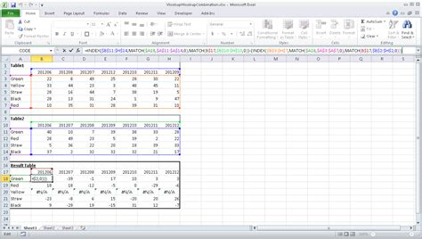 excel two pivot tables on one sheet pivot table from