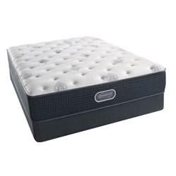 simmons beautyrest silver tidewater plush mattress
