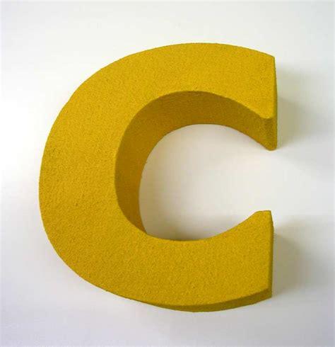 letter c   3D Letters