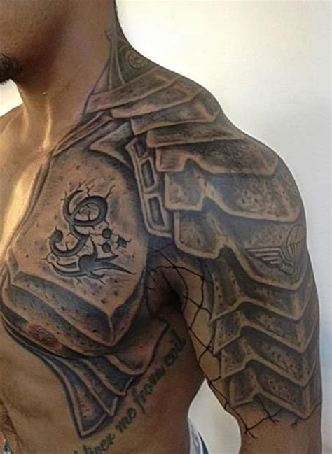 gladiator armor tattoo 60 wonderful armor tattoos