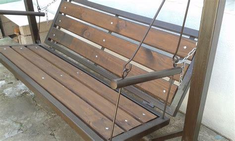sillon hamaca de madera hamaca de jardin en hierro y madera 7 000 00 en