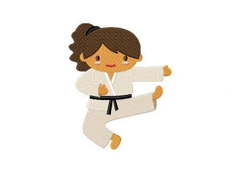 embroidery design karate karate kid girl machine embroidery design daily embroidery