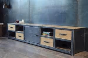 armoire acier vitr 233 e style industriel micheli design