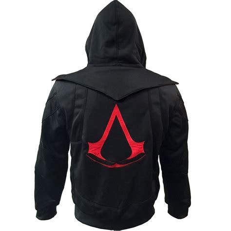 Vest Rompi Assasins Creed Chronicle assassins creed hooded jacket glitchgear glitchgear