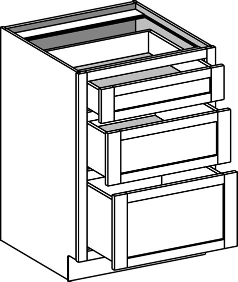 3 drawer base cabinet base cabinets cabinet joint