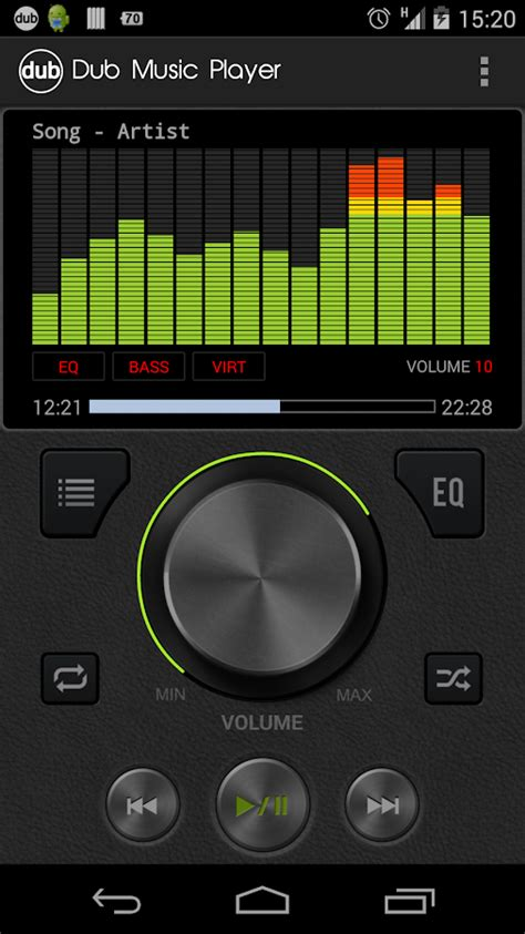 download free music player dub music player equalizer free download