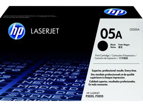 hp 05a black original laserjet toner cartridge (ce505a