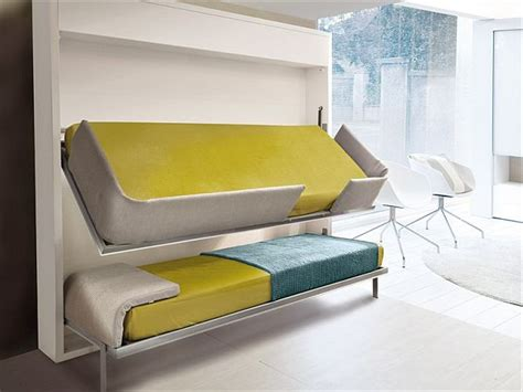 drop down bed the innovative lollisoft bunk pull down bed by giulio manzoni