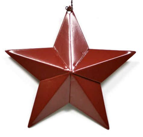 metal star home decor primitive red barn star wall decor home decor