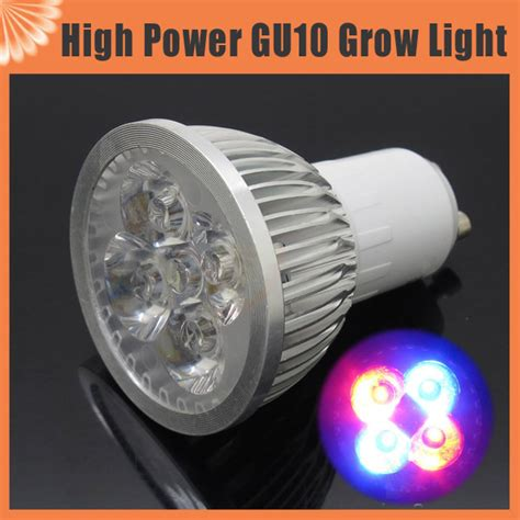 12w blue l gu10 led plant grow light bulb for