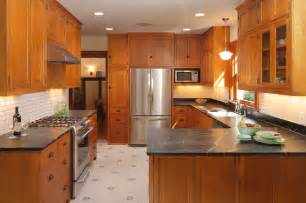 Small Kitchen Makeovers Before And After - bungalow kitchen craftsman kitchen minneapolis by