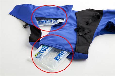 design cooling jacket japan trend shop summer vest cooling jacket