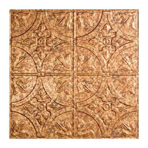 Home Depot Ceiling L by Fasade Traditional 2 2 Ft X 2 Ft Lay In Ceiling Tile