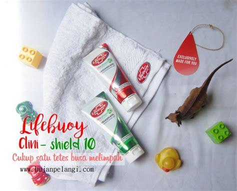 Sabun Lifebuoy Clini Shield 10 anak sering bersentuhan dengan kuman atasi dengan lifebuoy clini shield 10 ma hujanpelangi