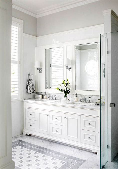 white vanity bathroom ideas 25 best ideas about wainscoting in bathroom on