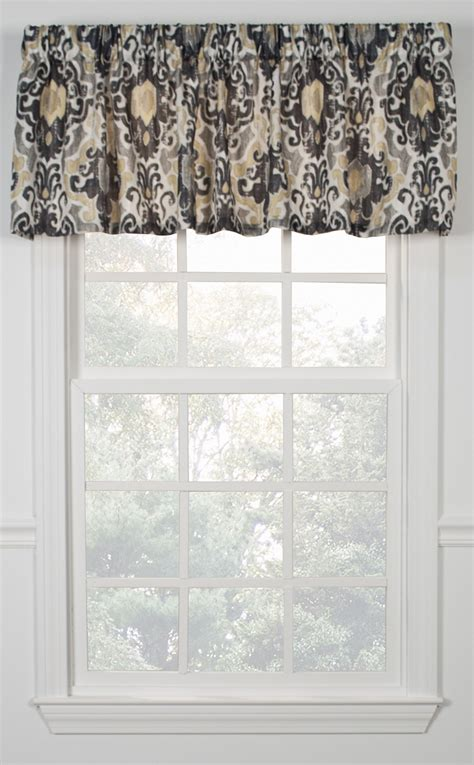 tuscany tailored valance kitchen valances