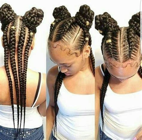 4 big in braid styles excellent 4 braids hairstyle stunningly cute ghana braids