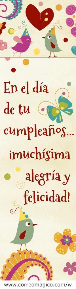 imagenes que digan mañana es mi cumpleaños 181 b 228 sta bilderna om feliz cumplea 241 os p 229 pinterest te