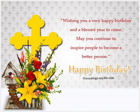 Happy Birthday Wishes In Christian Christian Birthday Wordings And Messages Wordings And