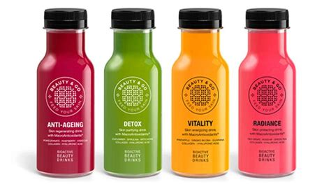 Juice Collagen go drinks claim to boost your health and beat your wrinkles in one hit daily mail