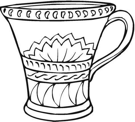 Vase Coloring Page by Free Coloring Pages Of Flower Vase
