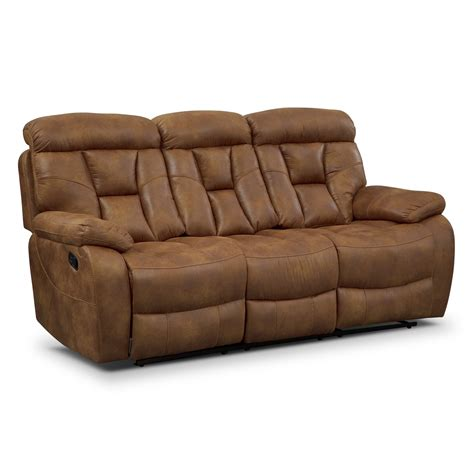 Dakota Ii Reclining Sofa Value City Furniture Reclinable Sofas