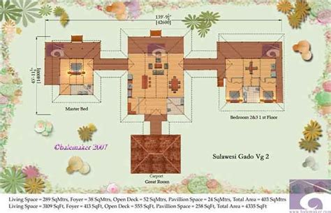 Floor Plans For New Homes Tropical House Plans Sulawesi Gado House Plans Balemaker