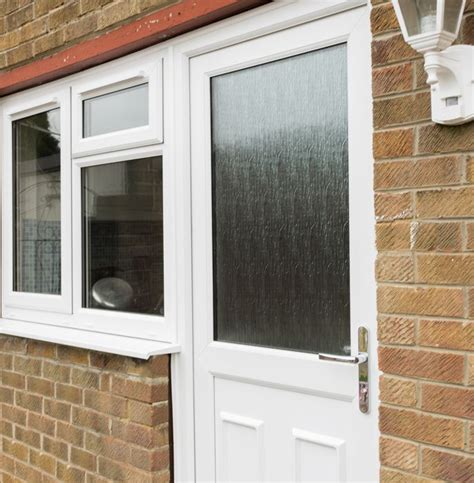Half Glazed Exterior Doors Upvc Half Glazed Exterior Doors Safestyle Uk