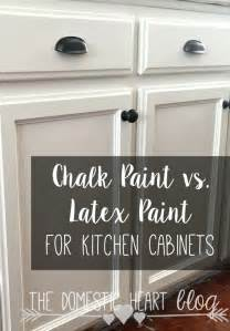 Can You Paint Kitchen Cabinets With Chalk Paint The Pros And Cons Of Chalk Paint And Paint When Painting Kitchen Cabinets Helpful