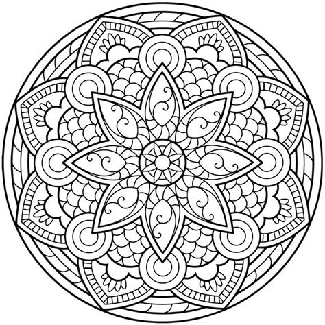 1370 Best Images About Mandala Spiritual Colouring On Mandala Coloring Book For