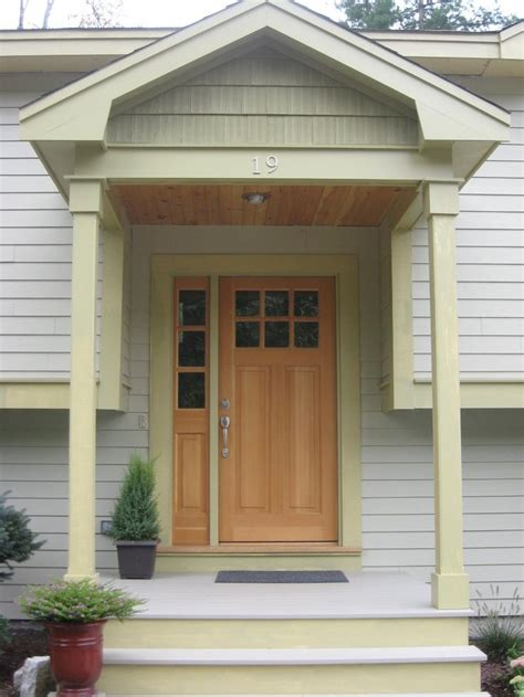 Portico Designs For Front Door Best 20 Raised Ranch Entryway Ideas On