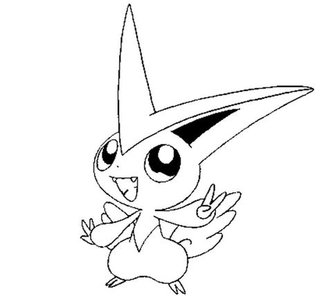 pokemon coloring pages victini coloring pages pokemon victini drawings pokemon