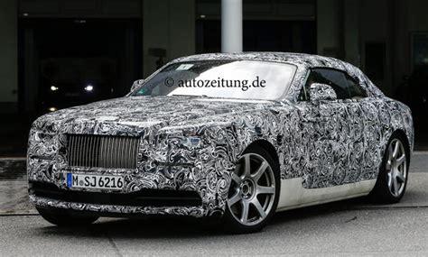 Rolls Royce Wraith Cabrio Erlkoenig Rolls Royce Wraith Drophead Cabrio Bild 12