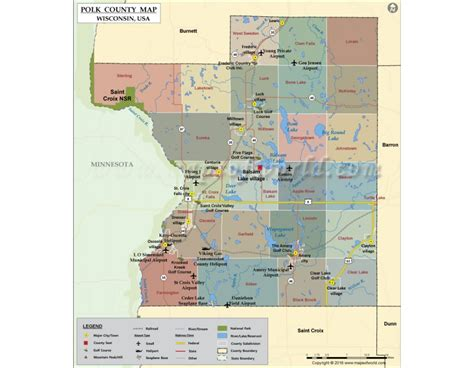 Polk County Search Buy Polk County Map