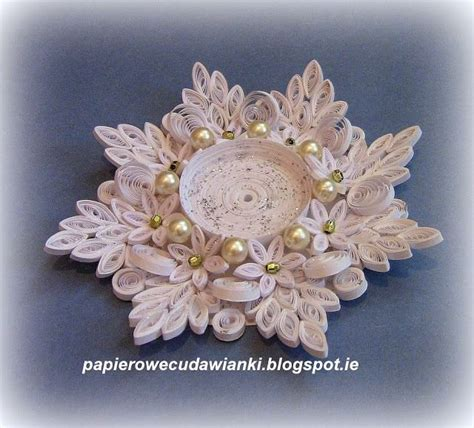 quilling kerzenhalter candle holder make for chime candles in different colors