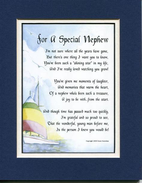 sentimental gifts for nephews nephew died poem just b cause