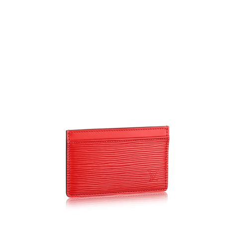 card holder card holder epi leather small leather goods louis