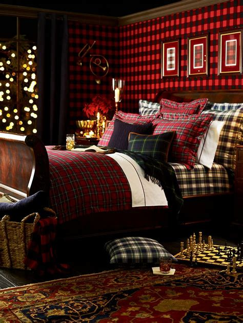 ralph lauren bedroom ralph lauren tartan bed collection mad for plaid