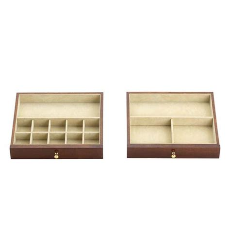 two drawer jewelry chest in jewelry boxes and organizers