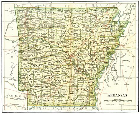 map arkansas arkansas maps arkansas digital map library table of