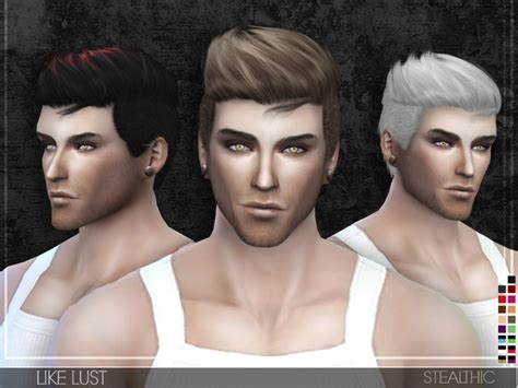 most liked sims 4 updates like lust male hair by stealthic at tsr 187 sims 4 updates