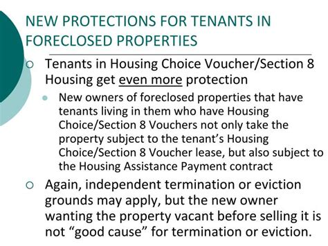 section 8 housing requirements for tenants ppt the south carolina residential landlord tenant act
